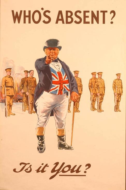 Affiche de recrutement (John Bull)
