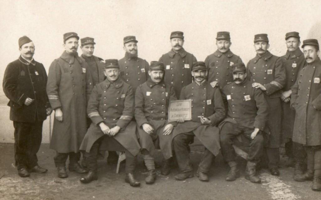 Les prisonniers d'Avesnes-les-Aubert (Nord) à Chemnitz