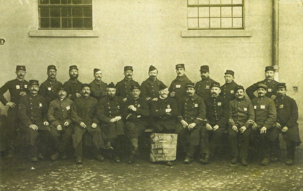Les prisonniers de Beauvois-en-Cambrésis et de Fontaine-au-Pire (Nord) à Chemnitz
