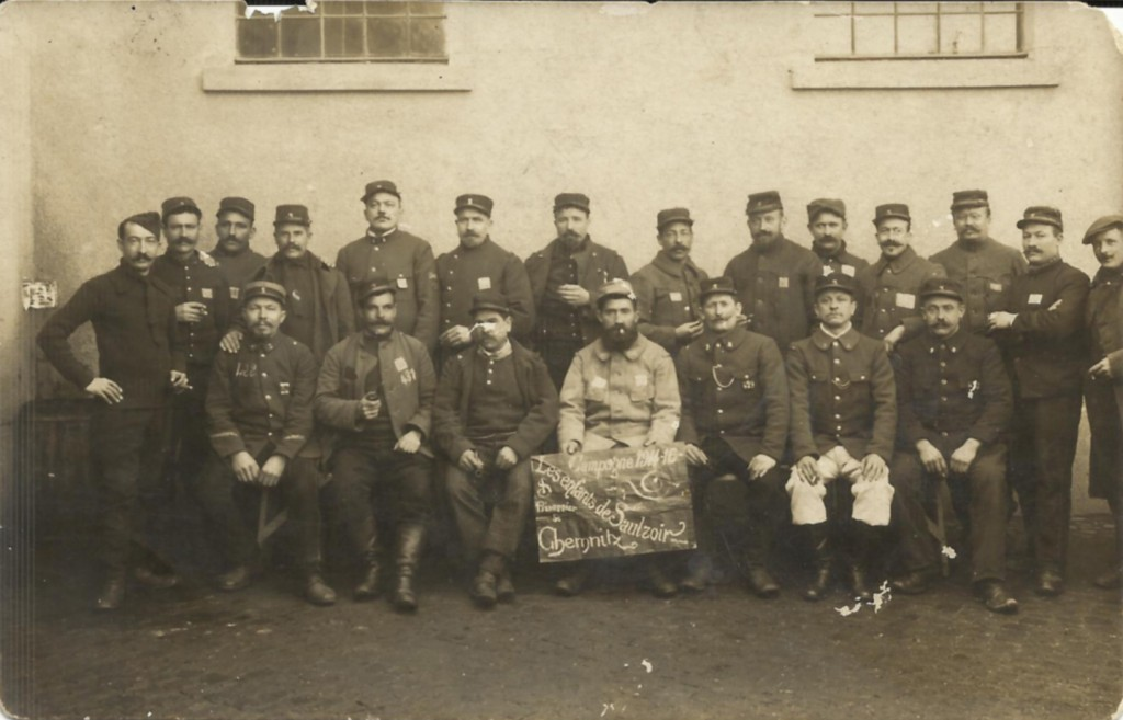 Les prisonniers de Saulzoir (Nord) à Chemnitz