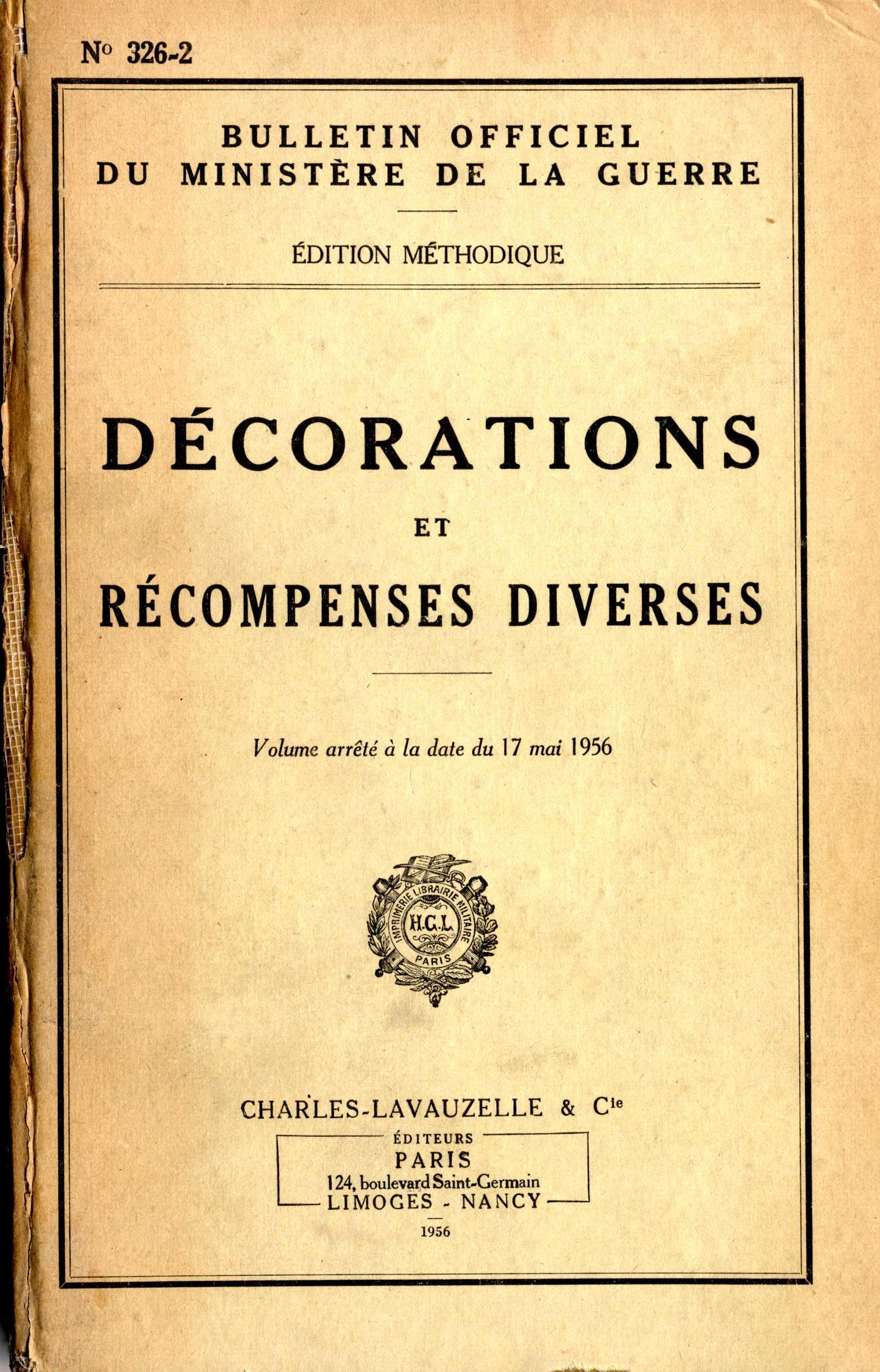 Des Decorations Et Des Archives Sources De La Grande Guerre