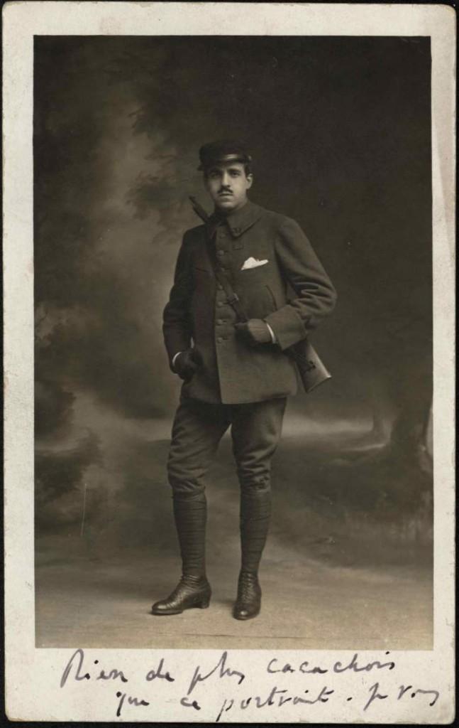 carte de Reynaldo Hahn à Proust mars 1915 (recto)
