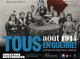 Août 1914. Tous en guerre !