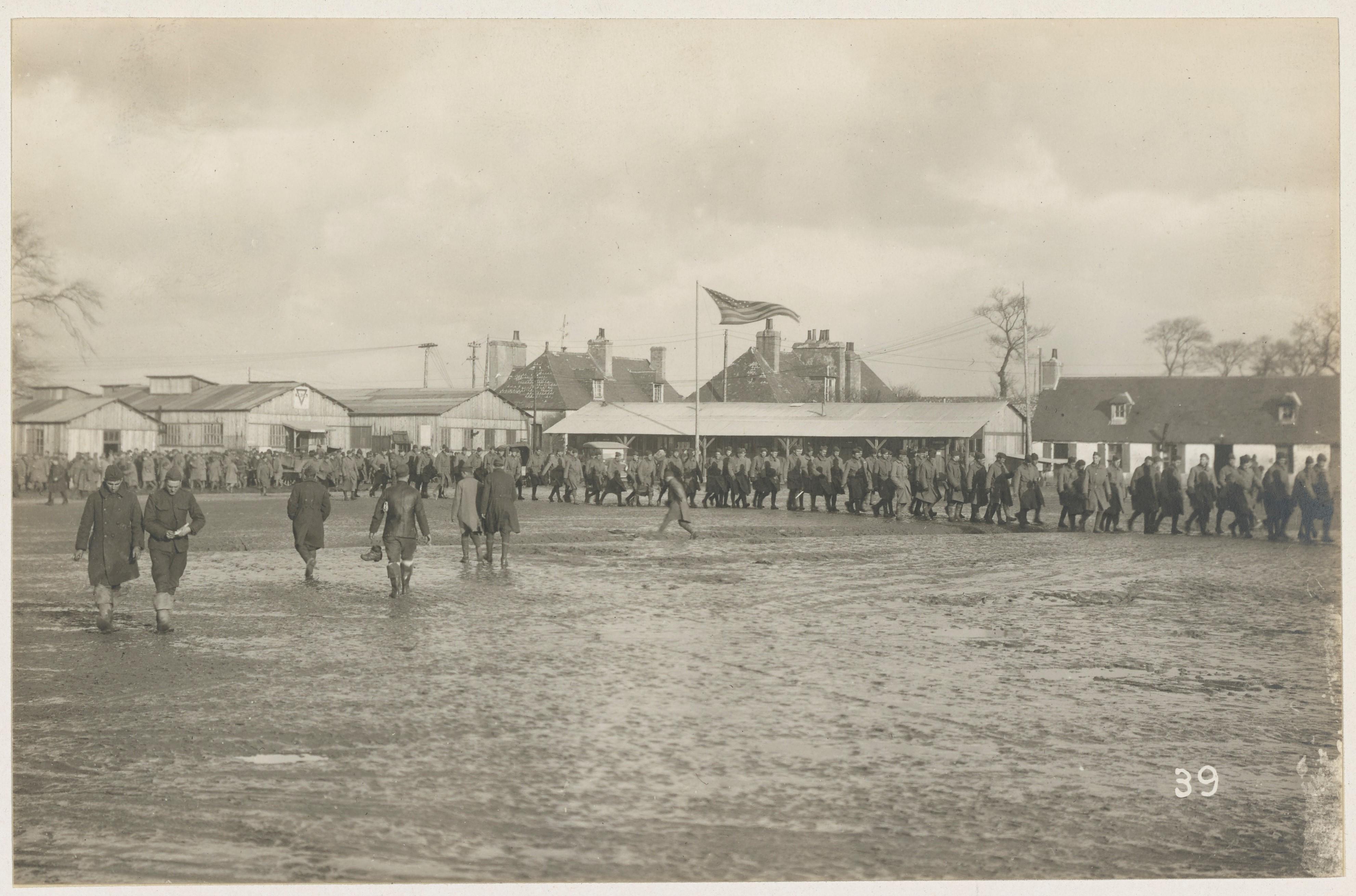 Le camp de Pontanezen en Bretagne, 1918, NARA, Pontanezen 165-WW-293B-033