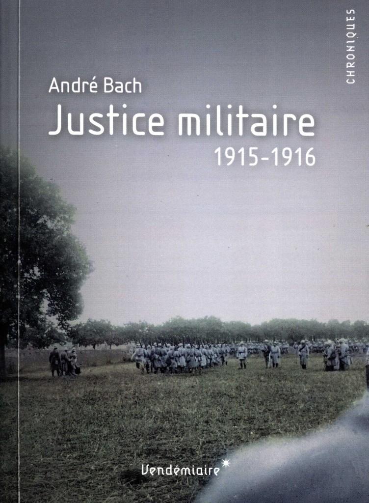 Justice militaire d'André Bach
